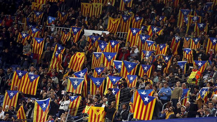 Permiten la entrada de banderas independentistas catalanas en la final de la Copa del Rey