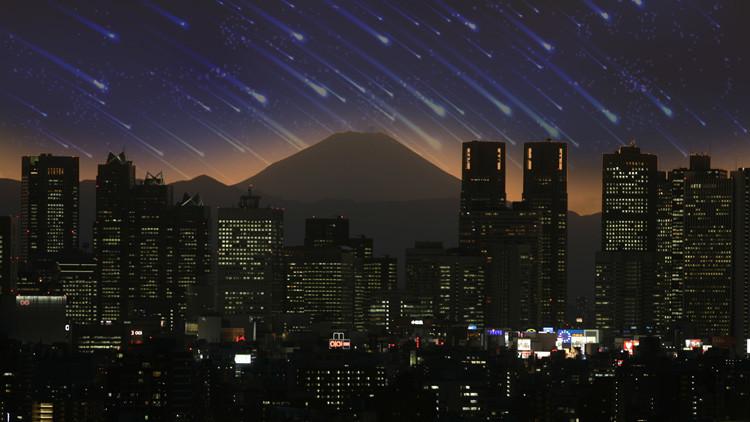 Proponen una espectacular lluvia de meteoritos artificial para los Juegos Olímpicos de 2020 (Video)