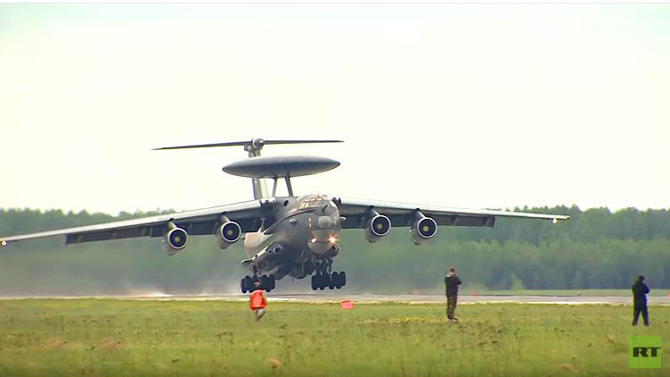 'Platillo volante': Rusia presenta su nuevo avión de alerta temprana (video)