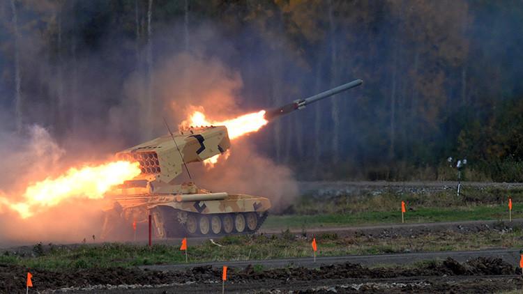 El rey de los lanzallamas: Este sistema revoluciona el concepto de lanzamisiles incendiarios (video)