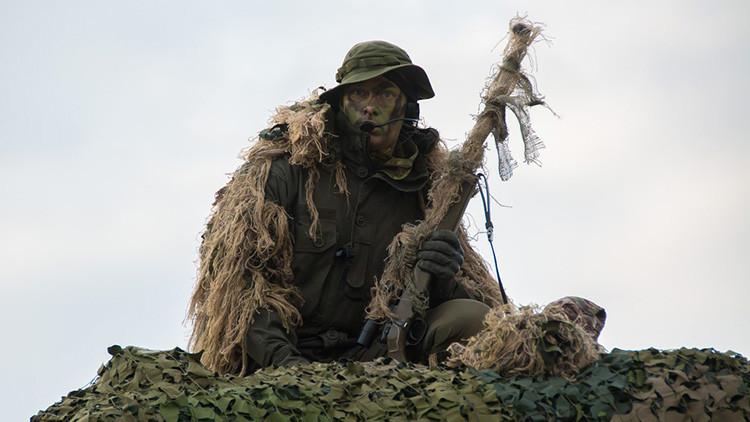Crean un camuflaje dinámico que 'deslumbrará' a los francotiradores