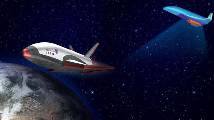 India pone en órbita un transbordador espacial propio no tripulado por primera vez en su historia
