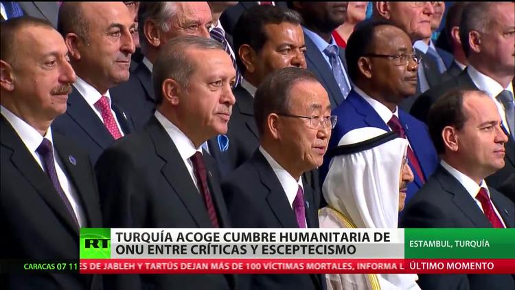 Turquía acoge la cumbre humanitaria de la ONU entre críticas y escepticismo