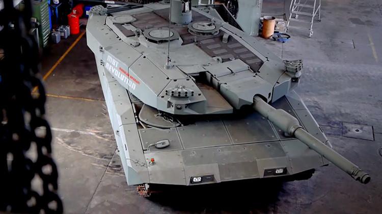 Video: ¿De qué presume el nuevo tanque futurista alemán?