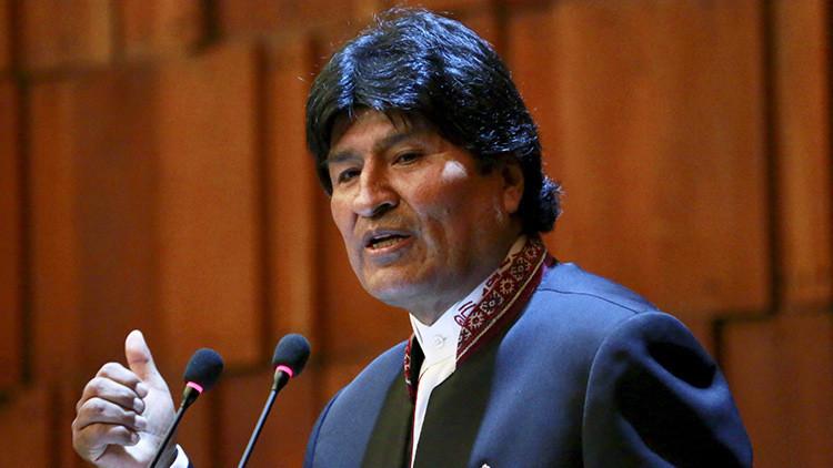 """Morales: """"EE.UU. quiere recuperar Estados serviles en América Latina"""""""