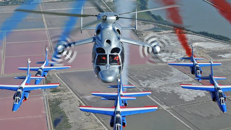 La revolución del transporte aéreo: Airbus presenta el helicóptero más rápido del mundo (video)