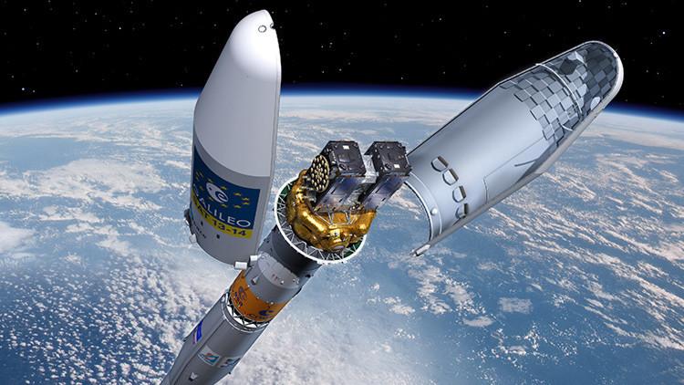 Video: Lanzamiento del cohete portador ruso Soyuz ST con dos satélites de navegación europeos