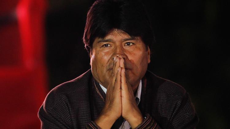 ¿Golpe a la vista en Bolivia? Denuncian una estrategia para derrocar a Evo Morales