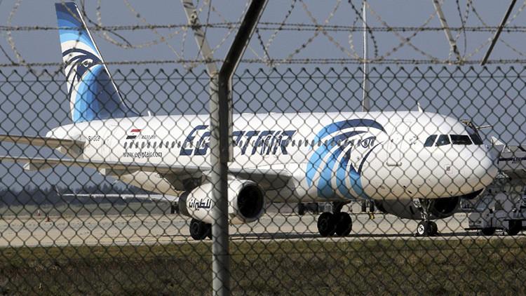 El A320 de EgyptAir apareció durante un minuto en el radar antes del accidente