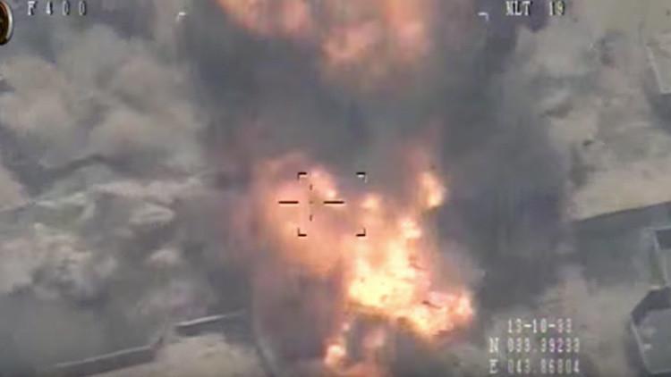 Primeras imágenes de ataques aéreos del Ejército iraquí contra el Estado Islámico en Faluya (video)