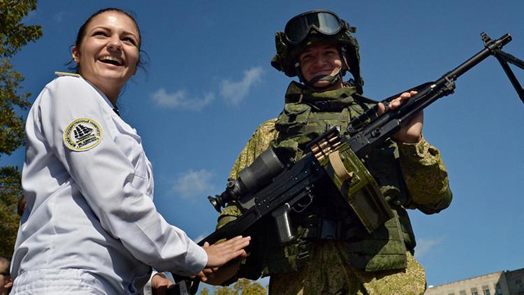 Rusia desarrolla una nueva ametralladora ligera para operaciones especiales