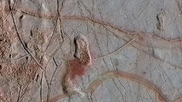 La NASA afirma que la luna Europa de Júpiter contiene condiciones para vivir