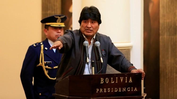 Evo Morales acusa a Chile de enviar agentes de inteligencia a Bolivia para debilitar su Gobierno