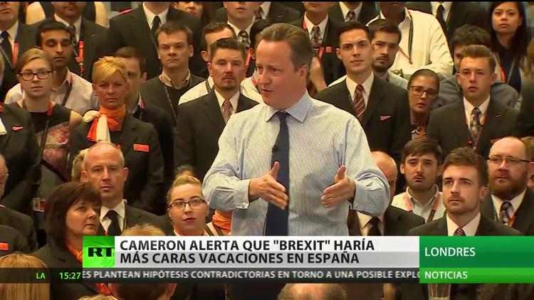 Cameron alerta que el Brexit haría más caras las vacaciones en España