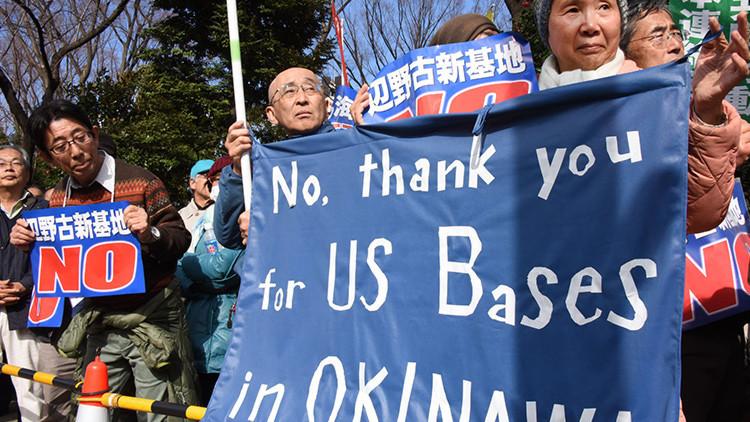 Las bases militares de EE.UU. generan violencia y crímenes en Japón