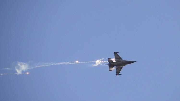 La Fuerza Aérea israelí bombardea la Franja de Gaza
