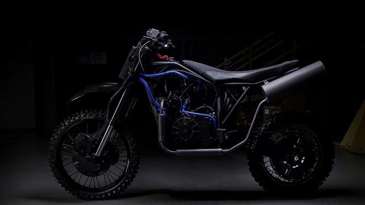 Las fuerzas especiales de EE.UU. ya tienen motocicletas silenciosas