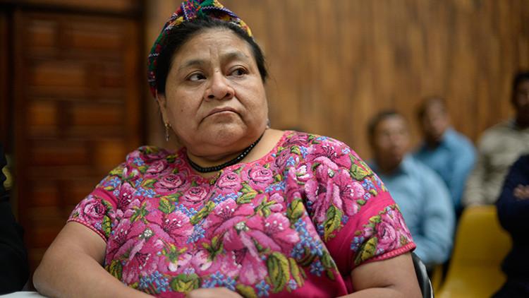 Una burla con la imagen de Rigoberta Menchú genera polémica