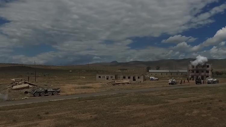 A vista de dron: Así se desarrollan los ejercicios antiterroristas más importantes de Eurasia