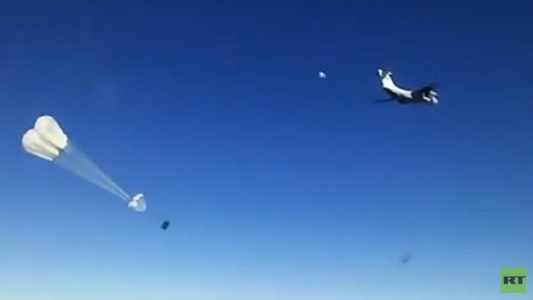 Rusia ayuda a entregar carga humanitaria a una ciudad siria sitiada por el Estado Islámico (VIDEO)