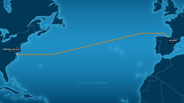 Facebook y Microsoft unirán ambos lados del Atlántico con un megacable submarino