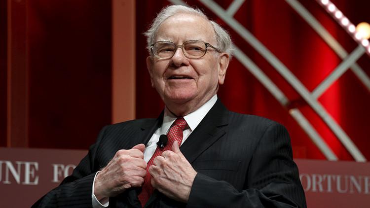 La tercera persona más rica del mundo, el multimillonario estadounidense Warren Buffett