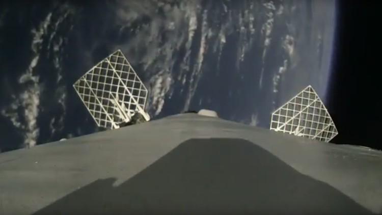 Video: Una cámara a bordo de un cohete SpaceX capta su aterrizaje