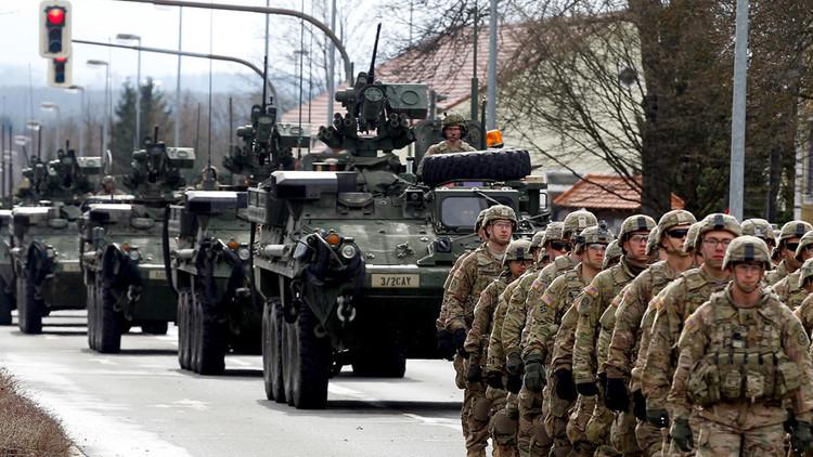La OTAN se pasea desafiante por Europa en vísperas de sus maniobras masivas (fotos)