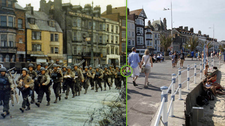 Fotos: El antes y el ahora de Normandía 70 años después del 'Día D'