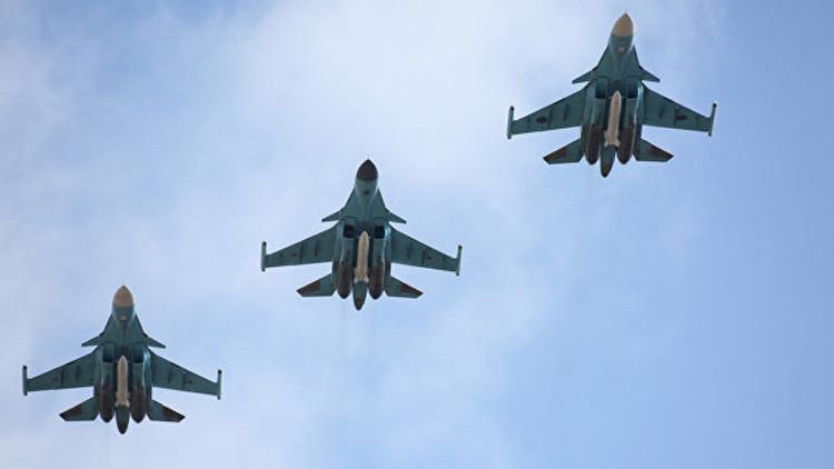 Rusia probará nuevos tipos de aviones y helicópteros de combate en Crimea