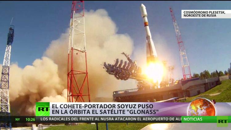 Lanzan un cohete portador con un satélite de navegación ruso GLONASS