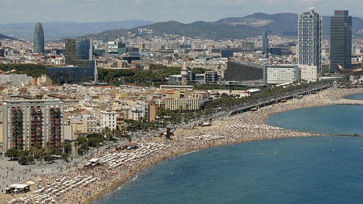 Barcelona: Una sencilla petición a un soldado de EE.UU. costó una paliza