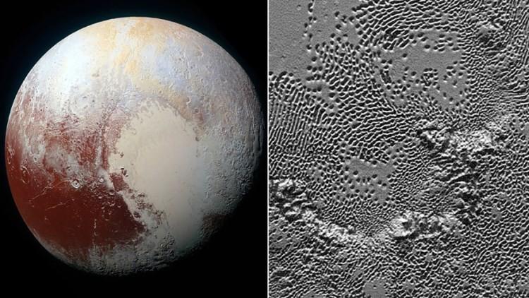 La NASA presenta la vista más detallada y fascinante de la superficie de Plutón (Video)