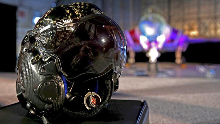 """""""Me puse el casco de piloto de F-35 y me dejó atónito"""": Vea un 'juguete' que cuesta 400.000 dólares"""