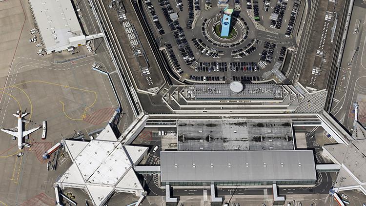 Alemania: Un español perdido causó una amenaza de seguridad en el aeropuerto de Colonia