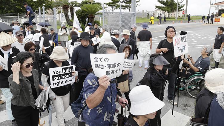 Ley seca y toque de queda para los militares de EE.UU. tras el asesinato de una joven en Okinawa