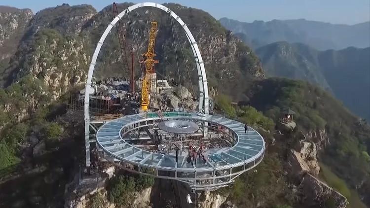 Video: ¿Cómo es el mayor mirador de cristal del mundo?