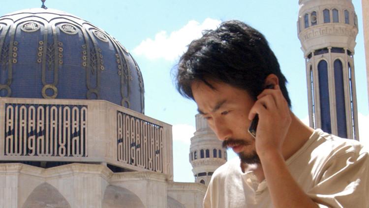 """""""Mi última oportunidad"""": El Frente Al Nusra difunde una foto de un periodista japonés secuestrado"""