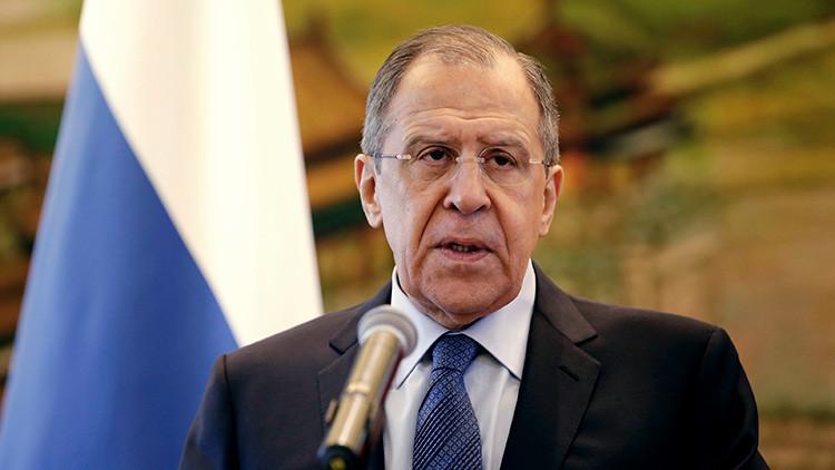 """Lavrov: """"Las relaciones entre Rusia y China son un modelo de cooperación intergubernamental"""""""