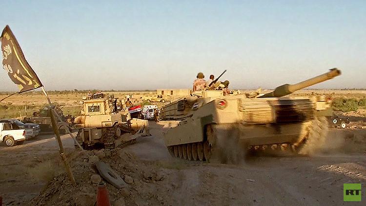 Primeras imágenes: El Ejército iraquí entra en la ciudad de Faluya, ocupada por el Estado Islámico