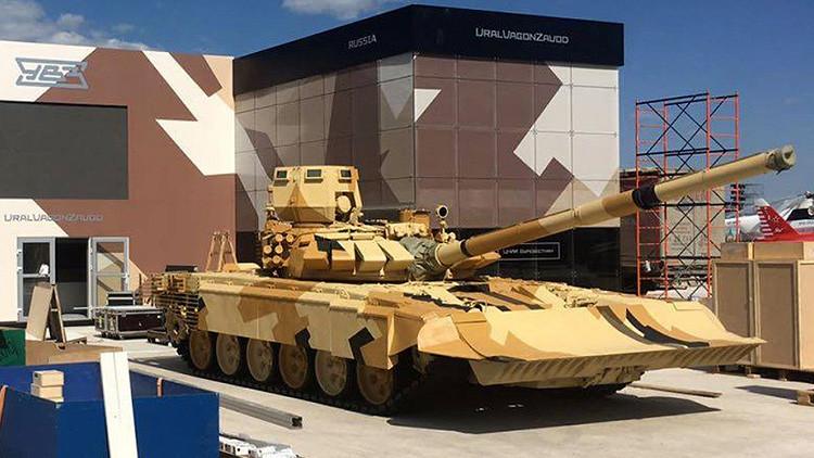Versión del tanque ruso T-72 para combates urbanos.