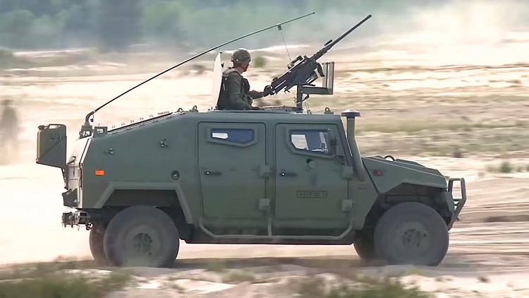 Video grabado por dron: Militares españoles participan en ejercicios militares de la OTAN en Polonia
