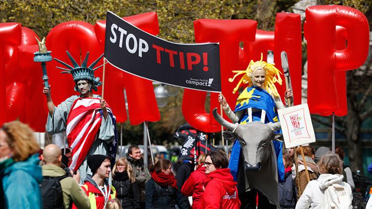 """¿Adiós al TTIP? Nueva filtración demuestra que """"es muy dudoso que algún día haya acuerdo comercial"""""""