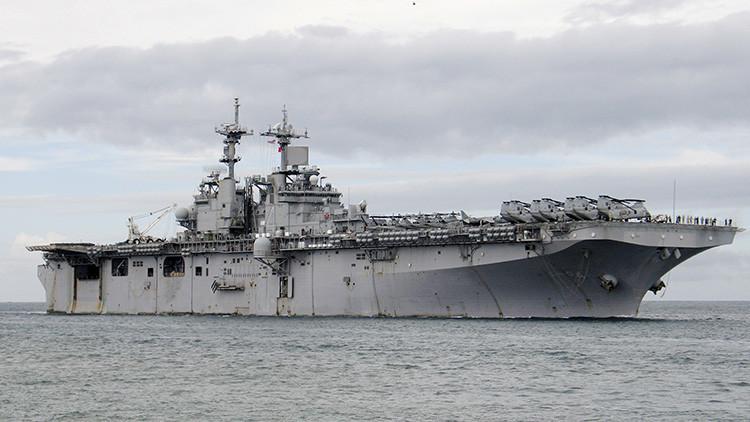 """Tensas negociaciones a la vista: China """"presionará"""" a EE.UU. por su presencia en el mar en disputa"""