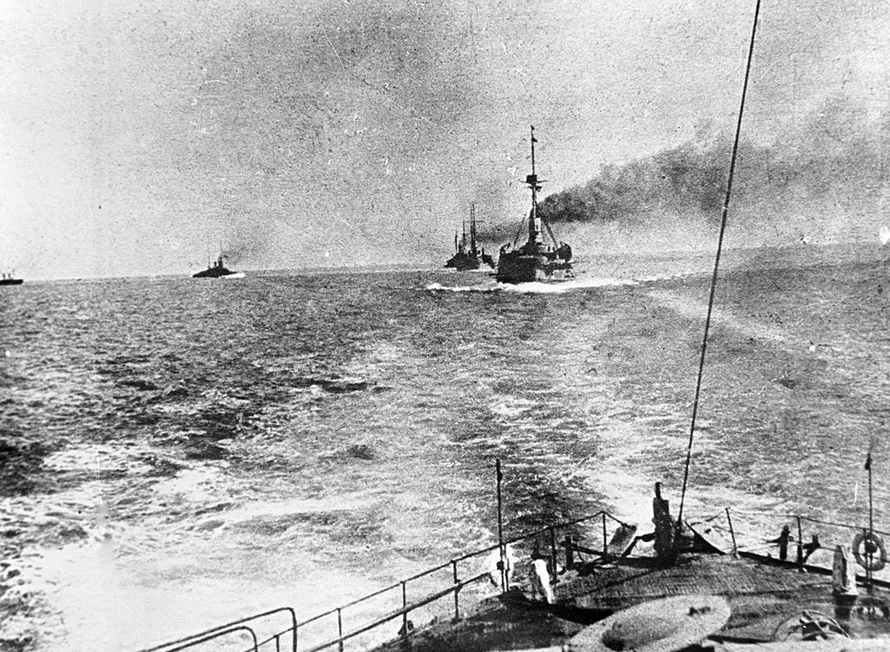 Acorazados de la Flota del Mar negro rusa durante la Primera Guerra Civil: Año 1915.