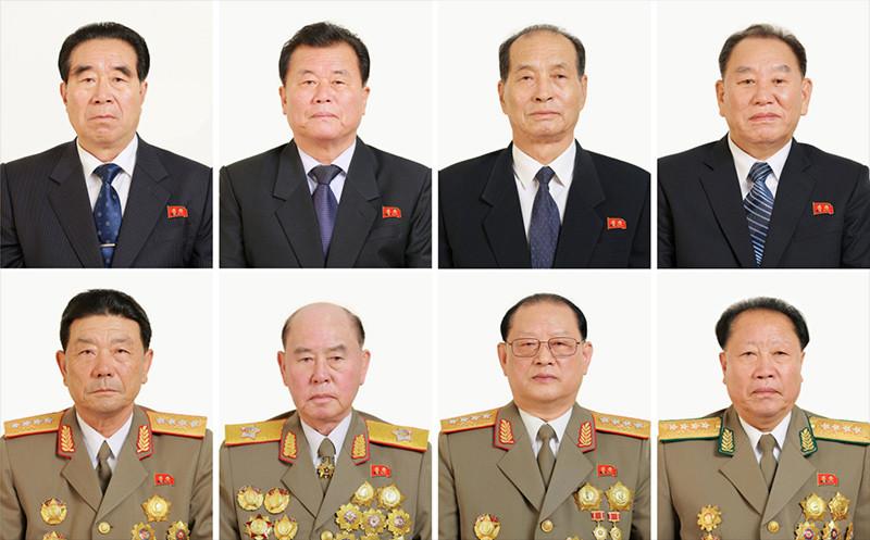 Altos estadistas norcoreanos