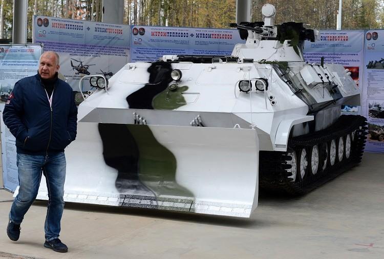 Vehículo de combate de apoyo de fuego y de acompañamiento Toros