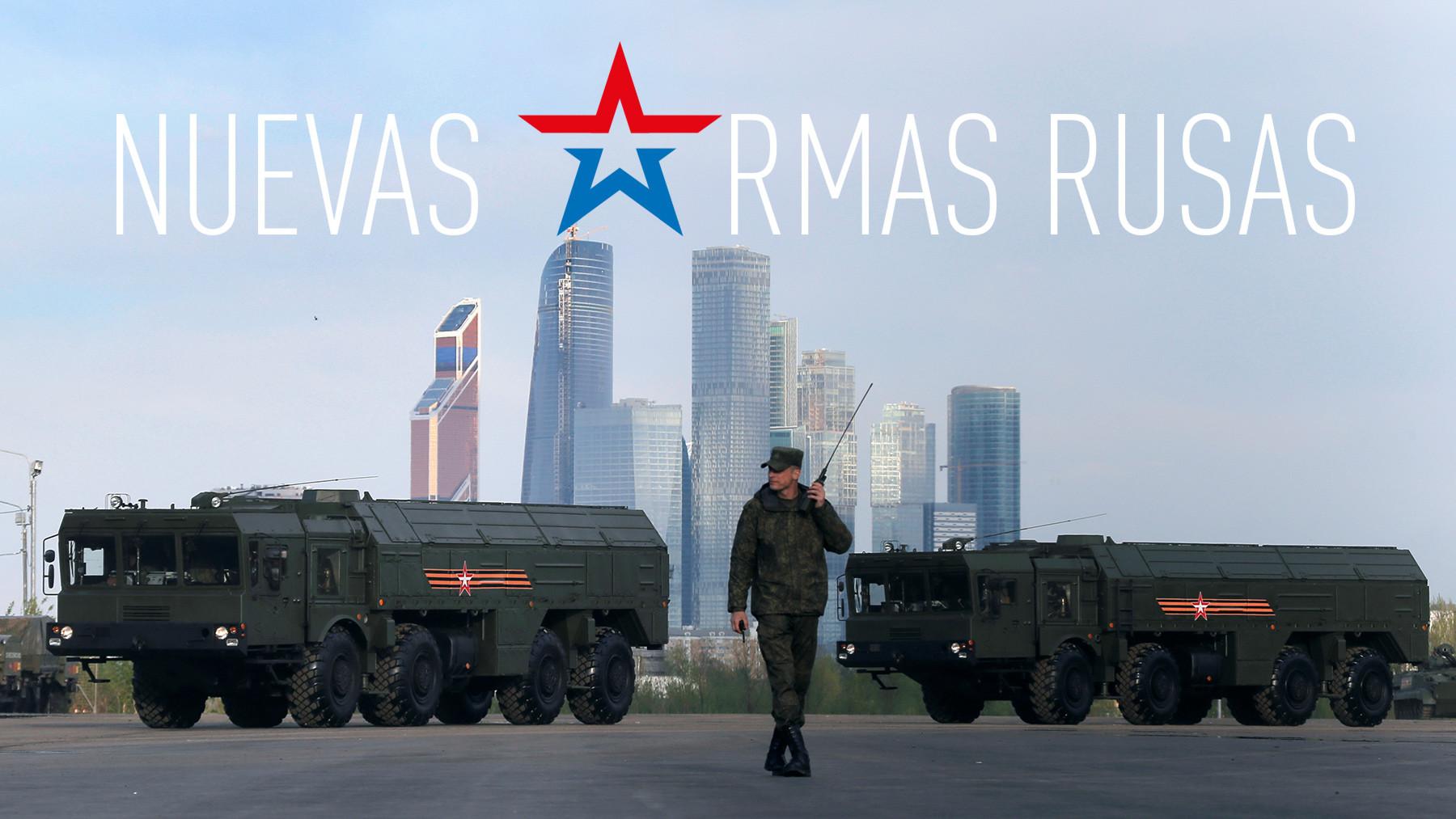 Estas son las armas que han recibido las Fuerzas Armadas de Rusia en 2016