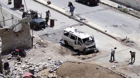 Damasco, 25 de abril de 2016.