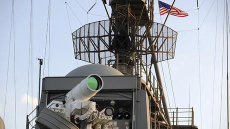 Pruebas operacionales del láser de combate en el buque anfibio estadounidense Ponce